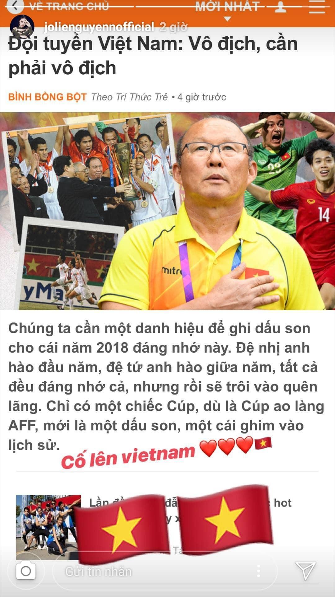 Clip: Dàn sao Việt hào hứng dự đoán tỷ số, hết mình cổ vũ tuyển Việt Nam trước trận Bán kết AFF Cup - Ảnh 4.