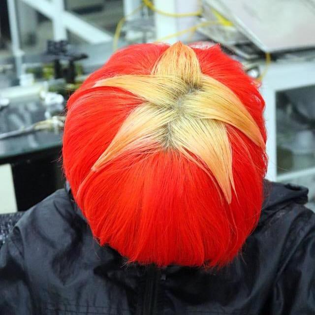 Chùm ảnh: CĐV Việt Nam và những kiểu tóc vô cùng độc đáo để cổ vũ đội tuyển - Ảnh 4.