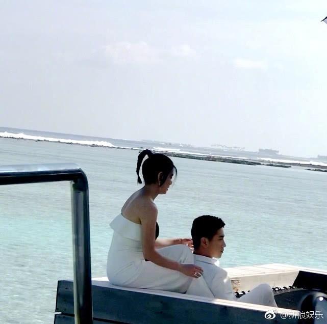 Ngọt ngào như gia đình Trần Hiểu - Trần Nghiên Hy: Hết chụp ảnh cưới lần 2, lại đưa cả nhà đi nghỉ dưỡng - Ảnh 1.