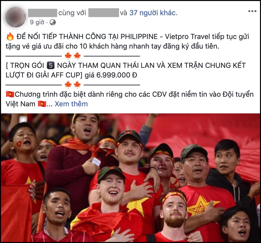 Tiên tri Malaysia thua trận, nhiều công ty mở bán tour cho người hâm mộ xem chung kết AFF Cup 2018 tại... Thái Lan - Ảnh 3.
