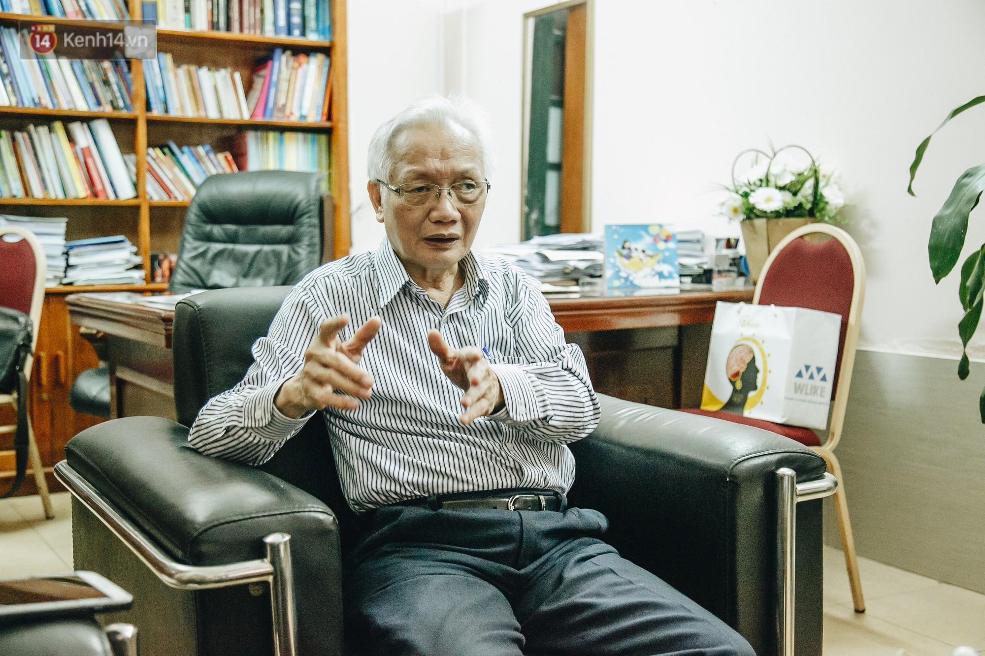 Chủ tịch Hội tâm lý Giáo dục Hà Nội nói về 2 vụ tát học sinh: Việc xin lỗi học trò sẽ làm nhân cách của thầy cô lớn hơn chứ không thấp đi - Ảnh 4.