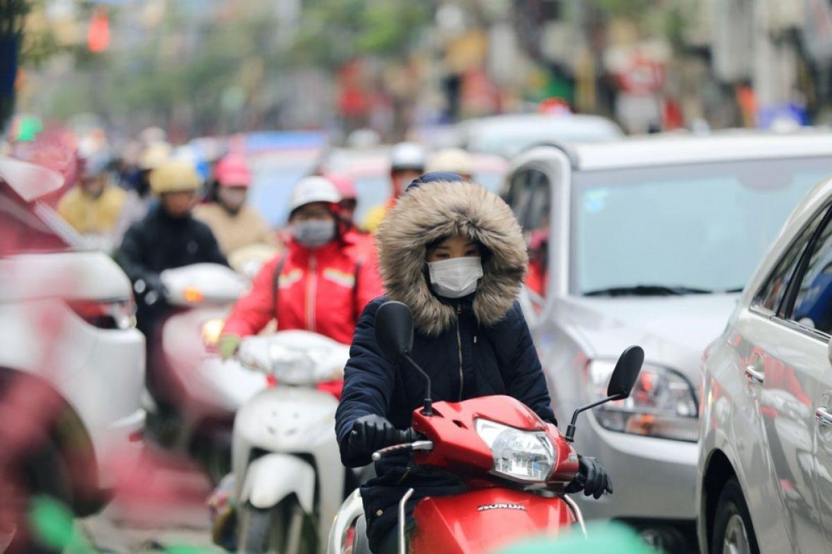 Thời tiết Hà Nội đêm nay: Không khí lạnh về, nhiệt độ 12 độ C - Ảnh 1.