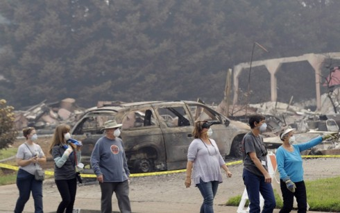 Mỹ: Hàng nghìn cư dân được phép trở về nhà sau thảm họa cháy rừng - Ảnh 1.