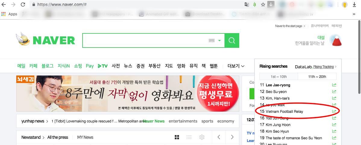 Tuyển bóng đá Việt Nam lên sóng, netizen Hàn hoàn toàn quên mất Encounter của Song Hye Kyo - Ảnh 1.