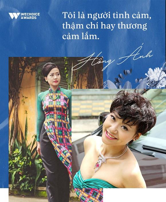 Hồng Ánh - Người nghệ sĩ gắn liền với những sắc thái xanh dương - Ảnh 1.
