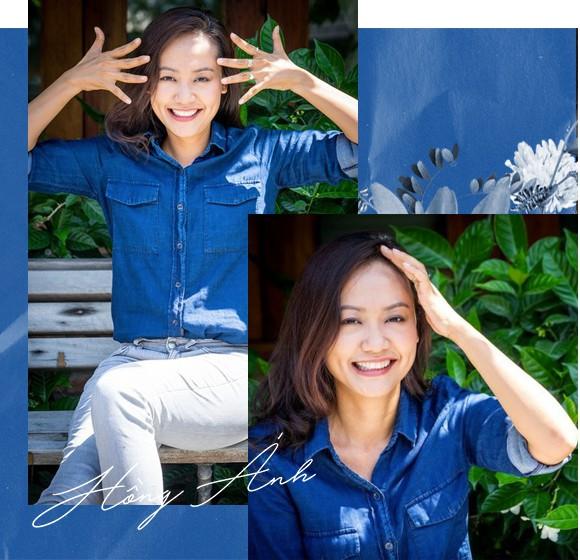 Hồng Ánh - Người nghệ sĩ gắn liền với những sắc thái xanh dương - Ảnh 4.