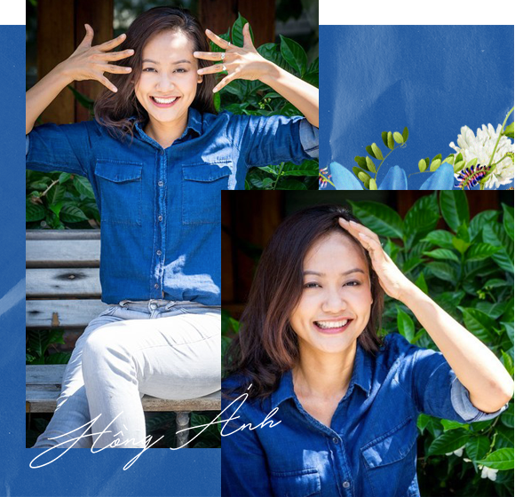 Hồng Ánh - Người nghệ sĩ gắn liền với những sắc thái xanh dương - Ảnh 7.