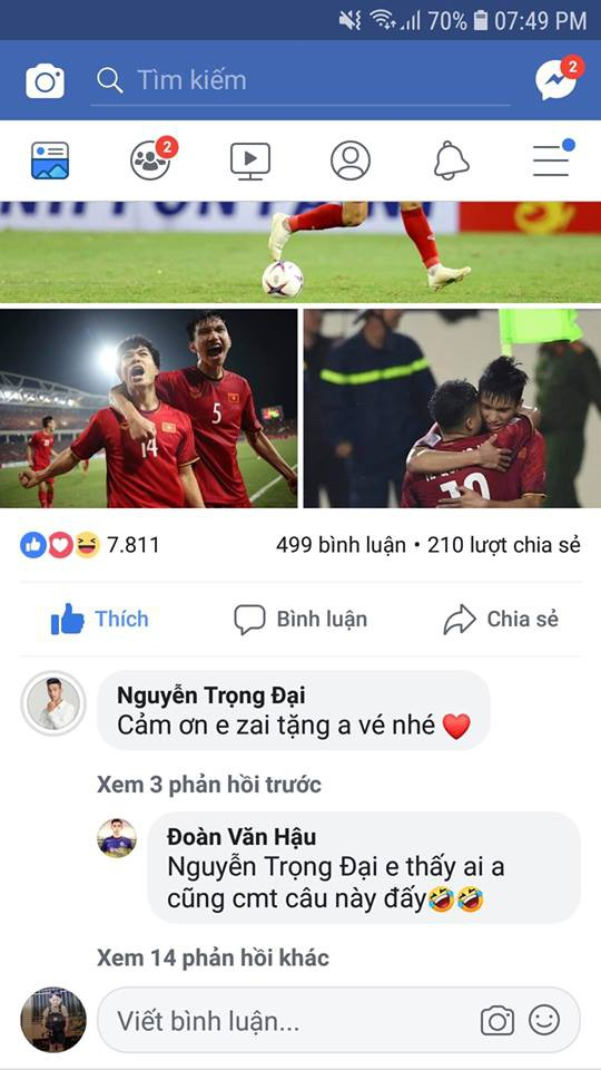 Cầu thủ đẹp trai nhất U23 Việt Nam dành cả thanh xuân để đi xin vé - Ảnh 9.