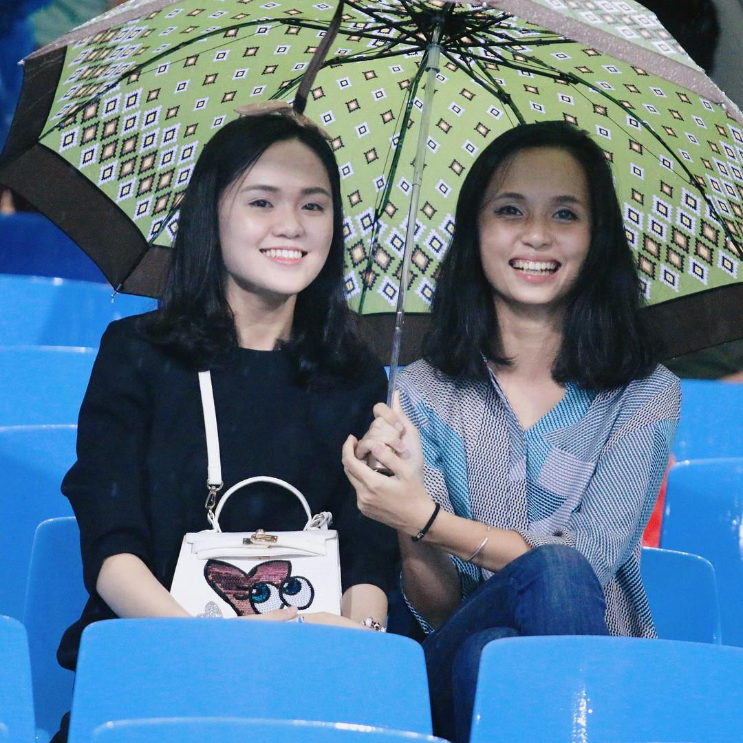 Bạn gái Duy Mạnh Quỳnh Anh là ái nữ cựu chủ tịch CLB Sài Gòn - Ảnh 1.