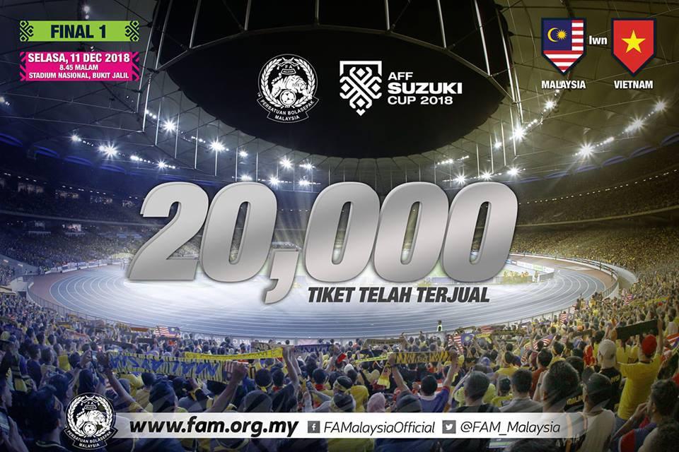 Cổ động viên Malaysia bức xúc, phẫn nộ với cách bán vé của đội nhà - Ảnh 1.