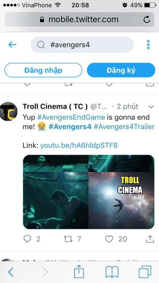 Cư dân mạng khóc thét khi chứng kiến các siêu anh hùng khốn khổ trong trailer Avengers: Endgame - Ảnh 10.