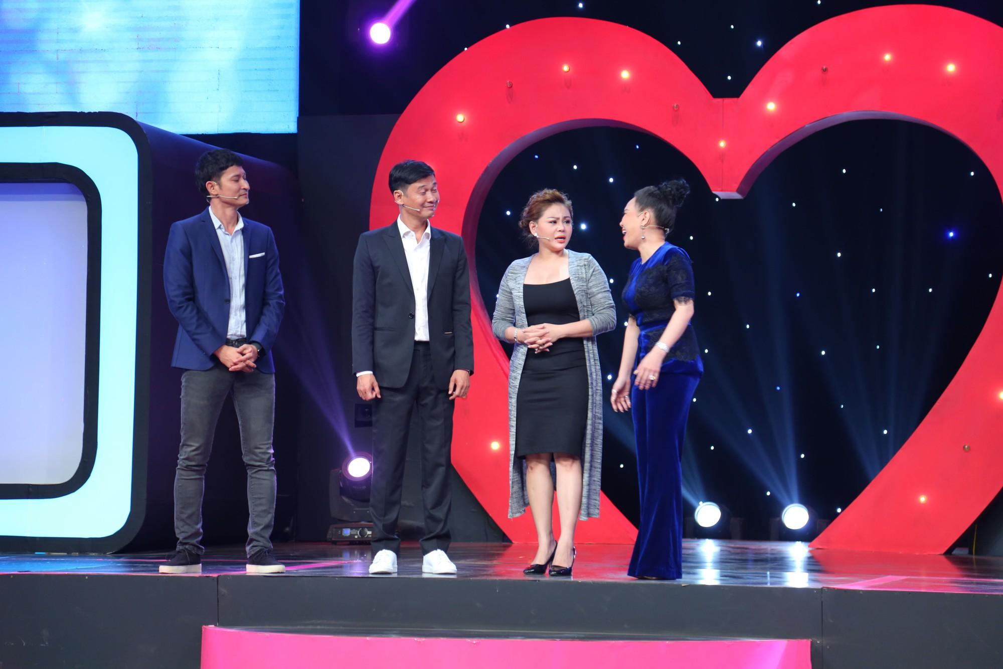 Tiết Cương nhận cái tát trời giáng từ Lê Giang trong show hẹn hò - Ảnh 3.