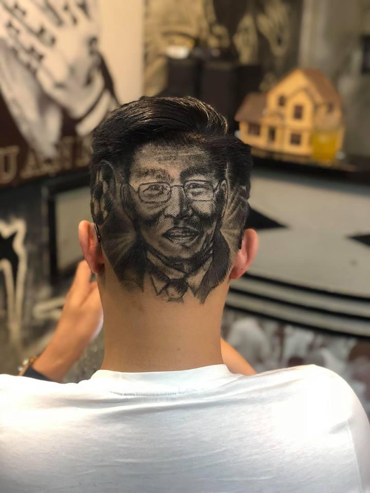 Tác giả của những kiểu tóc in hình HLV Park Hang Seo: Để cắt được một kiểu với hình chân dung phải mất gần 3h đồng hồ - Ảnh 3.