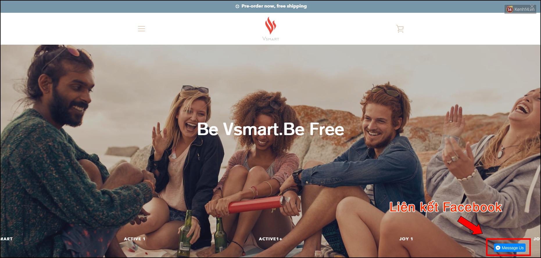 Website của Vsmart lộ diện lúc nửa đêm: Sẽ bán ra toàn cầu, làm cả smartphone lẫn tai nghe, loa ngoài? - Ảnh 4.