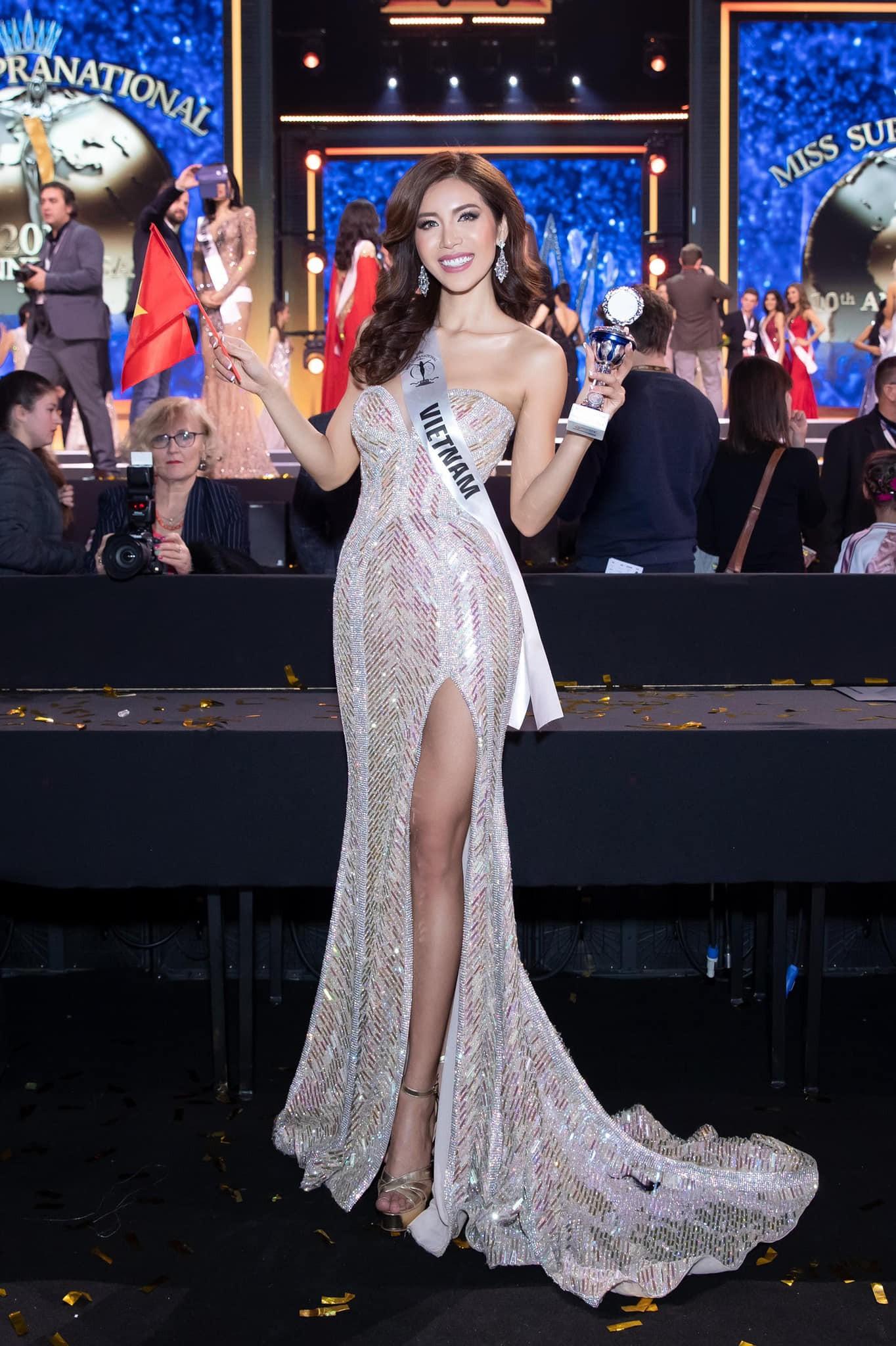 Minh Tú đội vương miện Hoa hậu Siêu quốc gia Châu Á, quẩy hết mình sau khi chỉ dừng chân tại Top 10 - Ảnh 4.