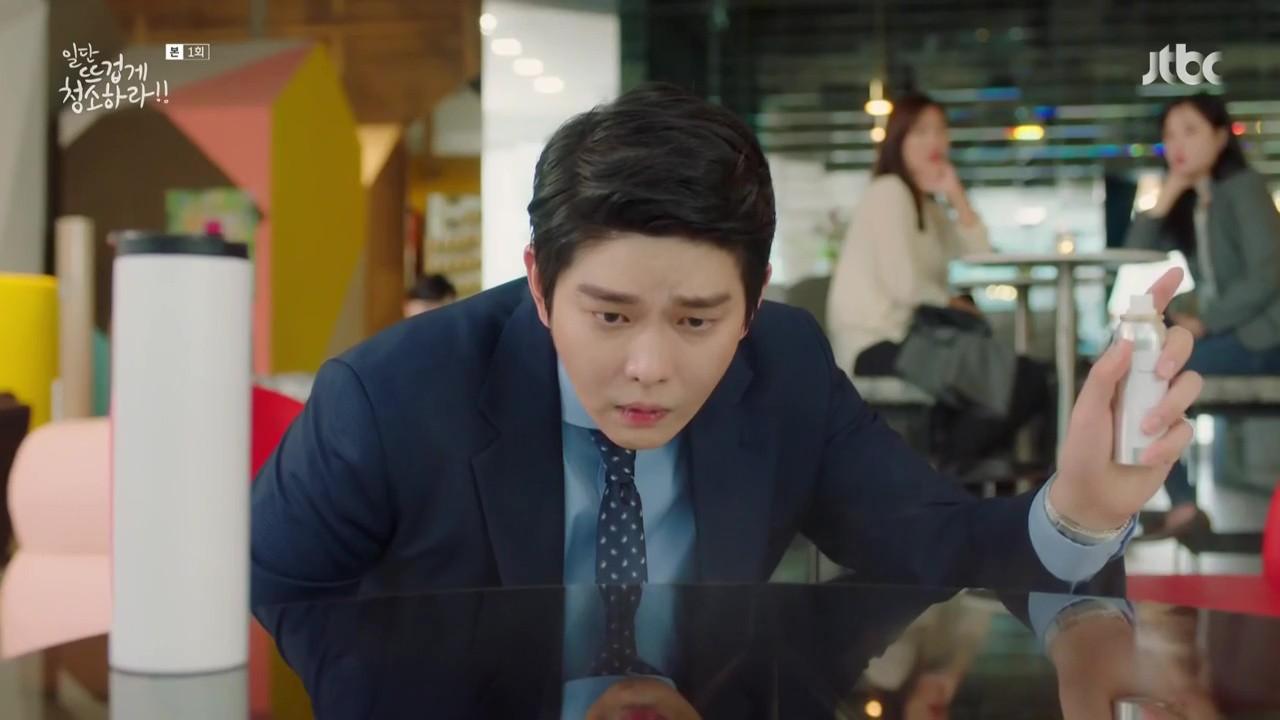"""Xem """"Cô Tiên Dọn Dẹp"""" của Kim Yoo Jung, khán giả lại chỉ để ý đến… cái bình xịt của nam chính - Ảnh 6."""