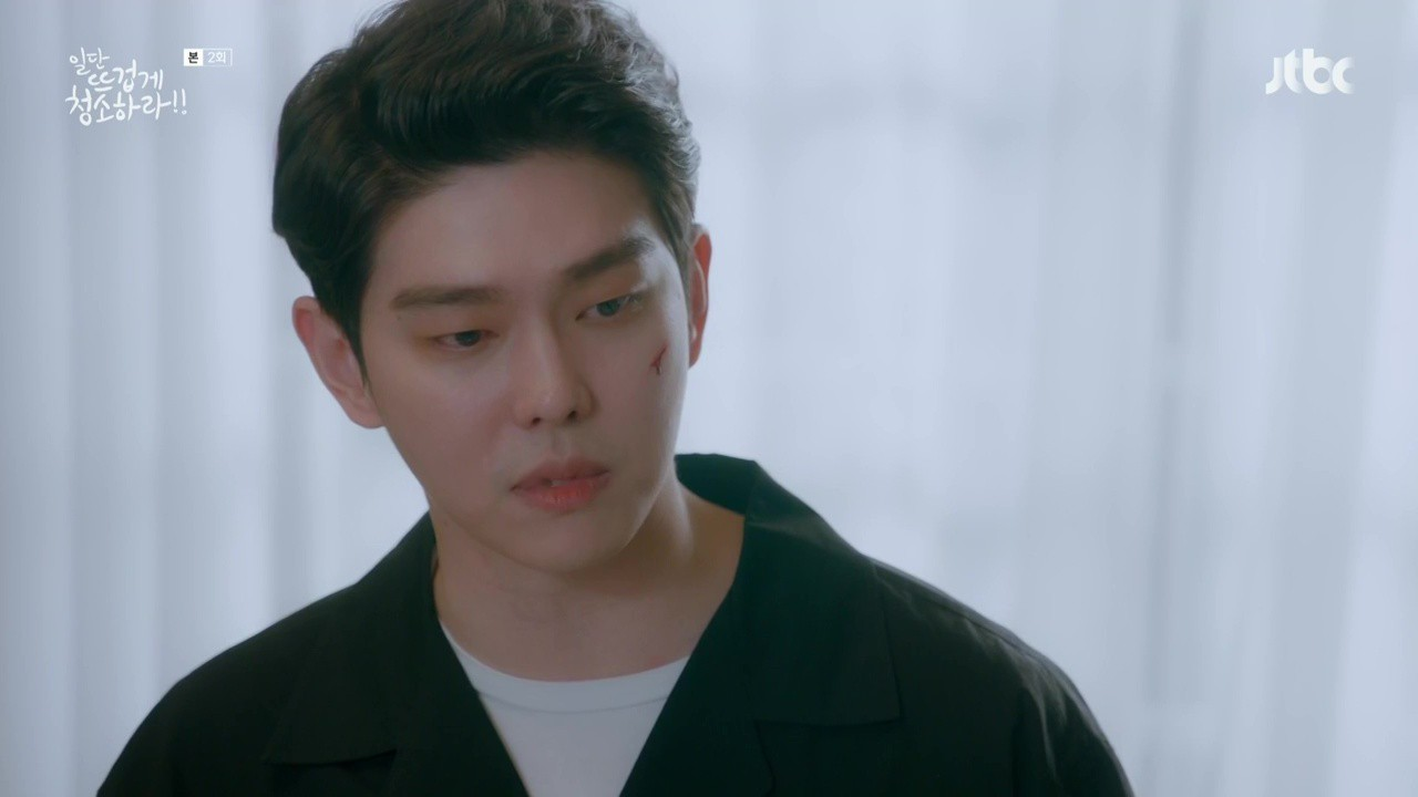 """Xem """"Cô Tiên Dọn Dẹp"""" của Kim Yoo Jung, khán giả lại chỉ để ý đến… cái bình xịt của nam chính - Ảnh 4."""