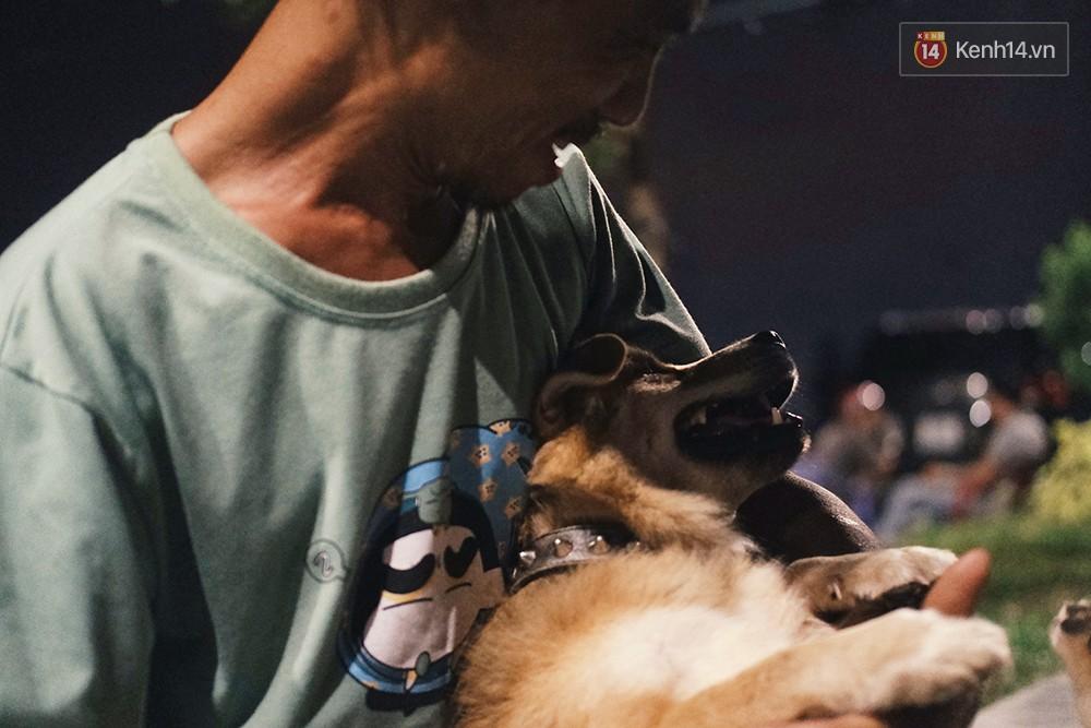 Điều kỳ diệu đã xuất hiện: Chú chó mù trở về bên anh đánh giày câm sau hơn nửa tháng mất tích - Ảnh 11.