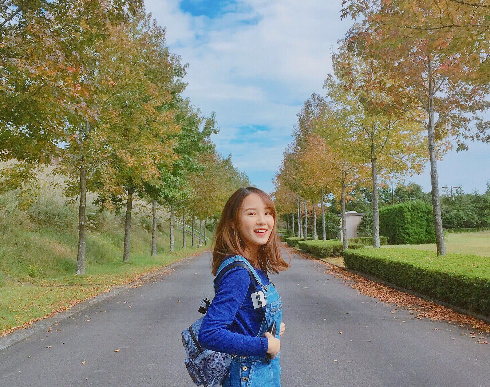 Cô nàng du học sinh Việt tại Nhật gây ấn tượng với nhan sắc ngọt ngào - Ảnh 6.