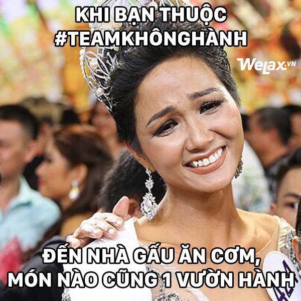 """Biểu cảm lúc đăng quang không rõ """"cười hay mếu"""" của Tân hoa hậu Hoàn vũ H'Hen Niê lại thành nguồn chế ảnh bất tận! - Ảnh 10."""