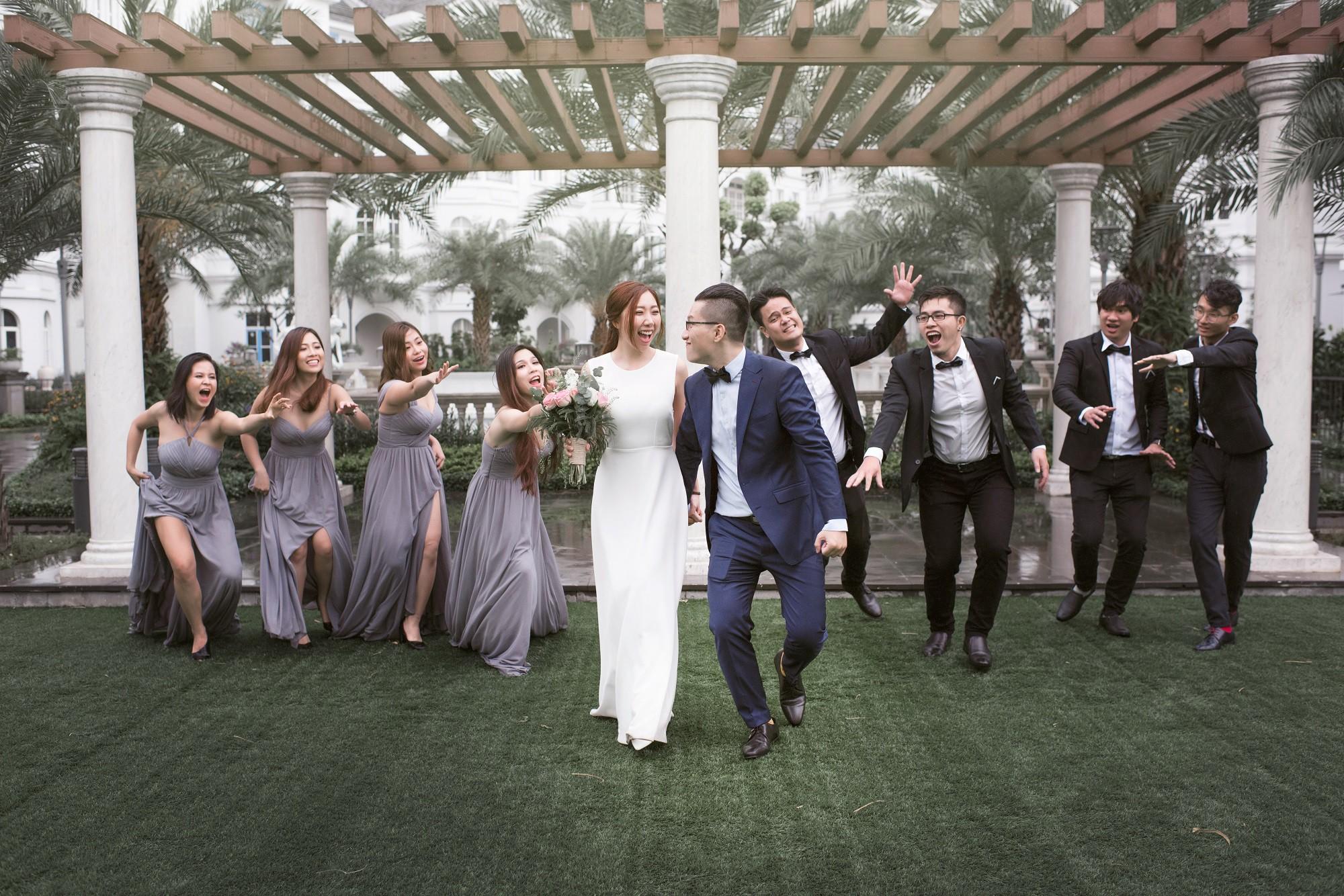 Em gái Trấn Thành kết hôn với bạn trai Hồng Kông, tung bộ ảnh cưới nhắng nhít cùng hội bạn thân - Ảnh 12.