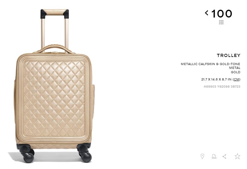 Có ai chịu chơi như Ngọc Trinh, sắm thêm vali Chanel cả trăm triệu dù đã có sẵn, chỉ khác màu - Ảnh 2.
