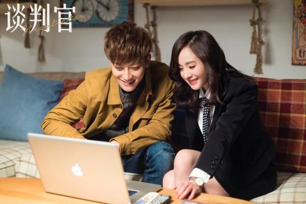 Cặp đôi màn ảnh Dương Mịch và Hoàng Tử Thao cực ngọt ngào trong phim mới