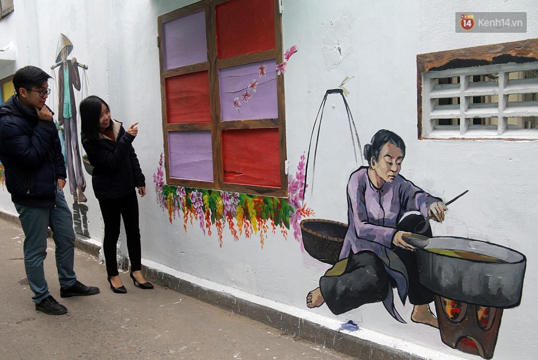 Chùm ảnh: Ngắm nhìn những bức tranh đầu tiên ở làng bích họa trong lòng thành phố Đà Nẵng - Ảnh 10.