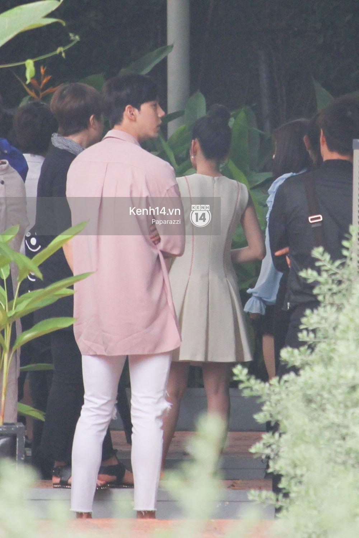 Chi Pu thân thiết, đi ăn tối cùng nữ thần Kpop Jung Chae Yeon và bạn trai tin đồn Jin Ju Hyung - Ảnh 9.