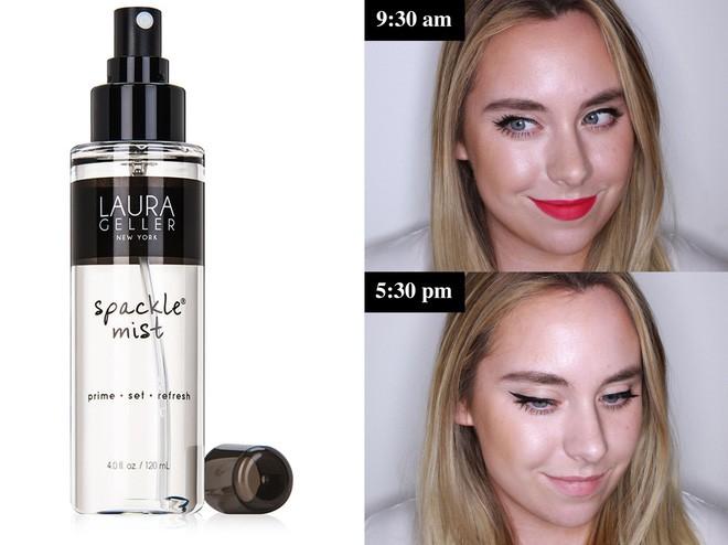 Muốn có lớp trang điểm bền đẹp cả ngày, cô nàng này đã thử 10 loại xịt cố định lớp makeup phổ biến và đây là kết quả - Ảnh 2.