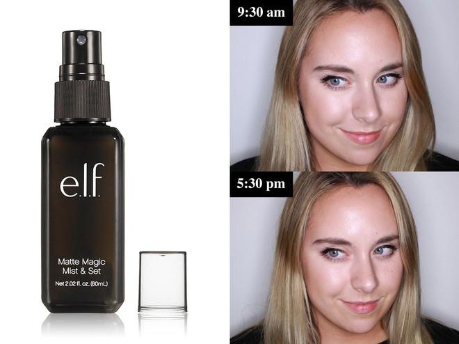 Muốn có lớp trang điểm bền đẹp cả ngày, cô nàng này đã thử 10 loại xịt cố định lớp makeup phổ biến và đây là kết quả - Ảnh 3.