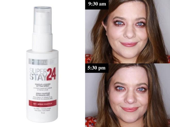 Muốn có lớp trang điểm bền đẹp cả ngày, cô nàng này đã thử 10 loại xịt cố định lớp makeup phổ biến và đây là kết quả - Ảnh 6.