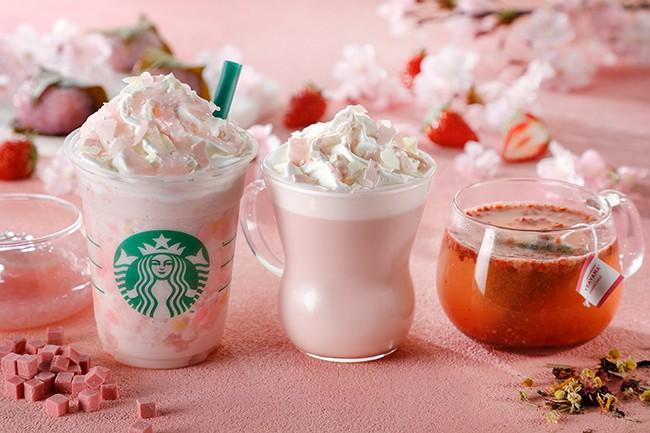 Đón chào mùa xuân 2018, Starbucks Nhật Bản ra dòng sản phẩm mới với hương vị hoa anh đào độc đáo - Ảnh 3.