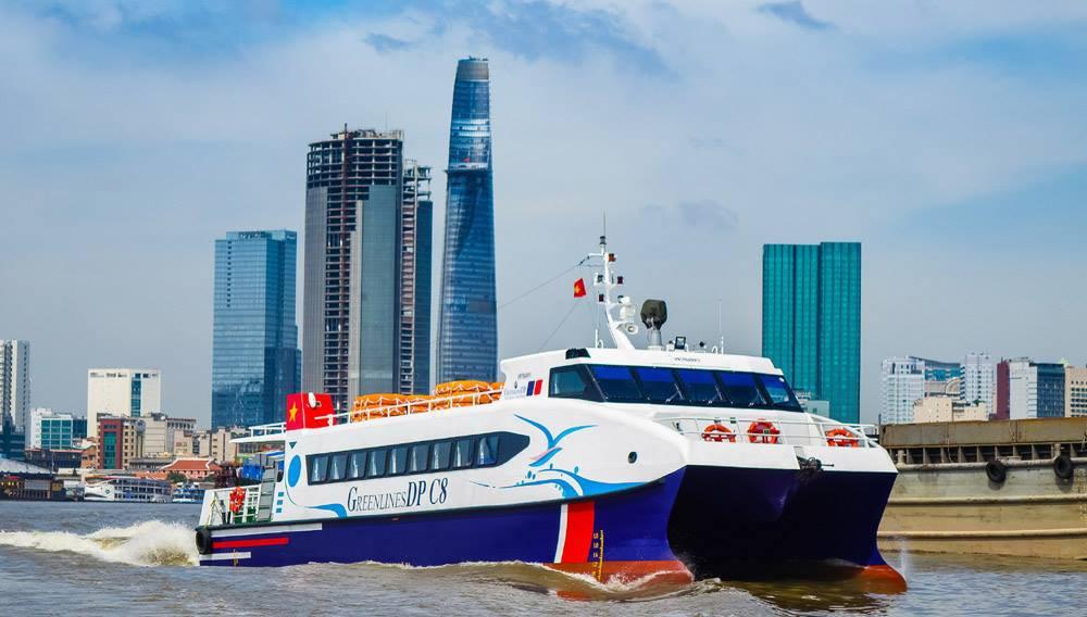 Tuyến tàu cao tốc TP.HCM đi Cần Giờ- Vũng Tàu.
