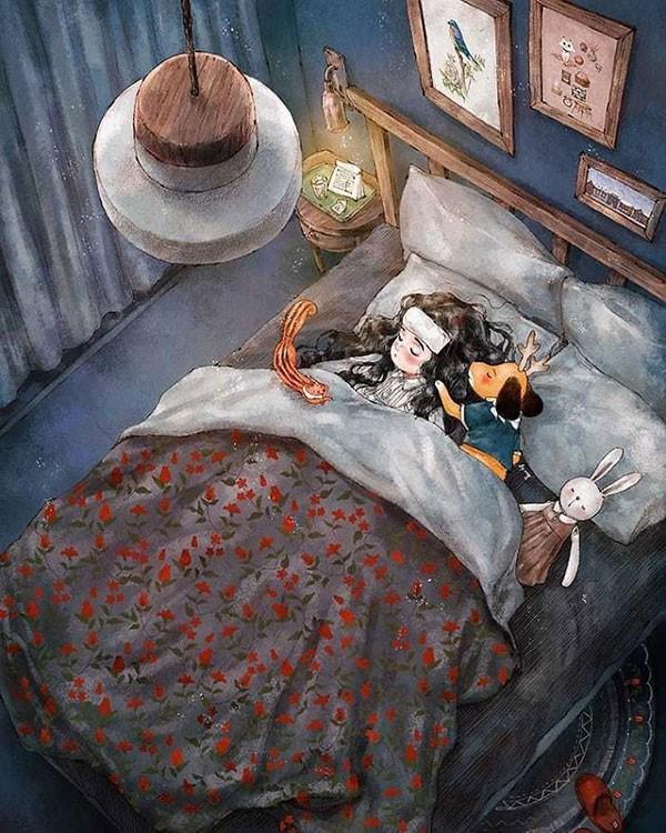 Bộ tranh khiến mọi cô gái độc thân đều cảm thấy được an ủi, nhất là khi Valentine đang tới gần - Ảnh 11.