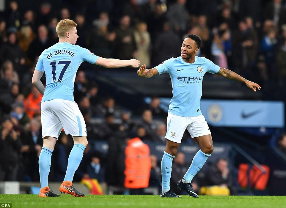 Aguero ghi 4 bàn, Man City nghiền nát cựu vương Leicester - Ảnh 4.