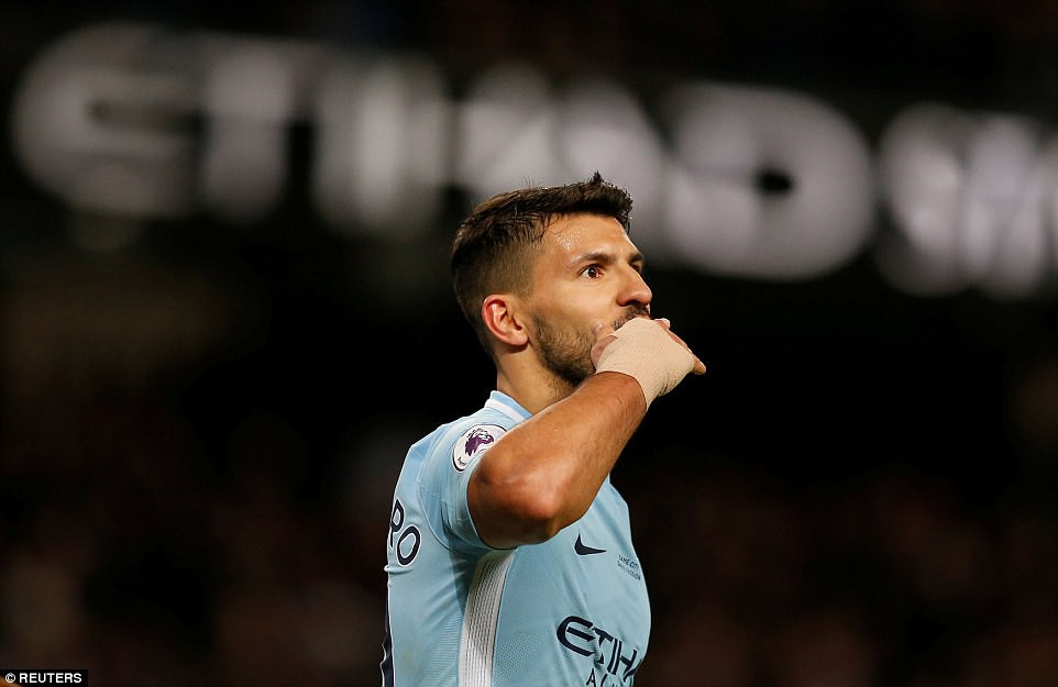 Aguero ghi 4 bàn, Man City nghiền nát cựu vương Leicester - Ảnh 11.