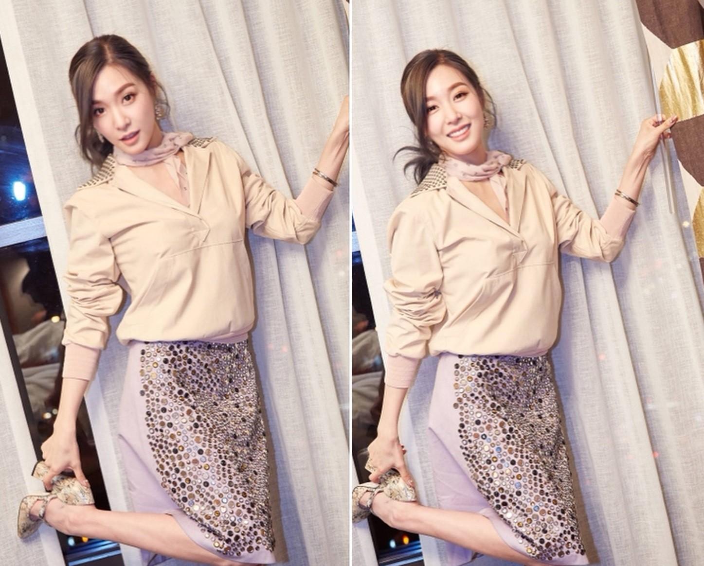 Vừa rời khỏi SM, nhan sắc và phong cách của Tiffany đã tuột dốc thê thảm - Ảnh 3.