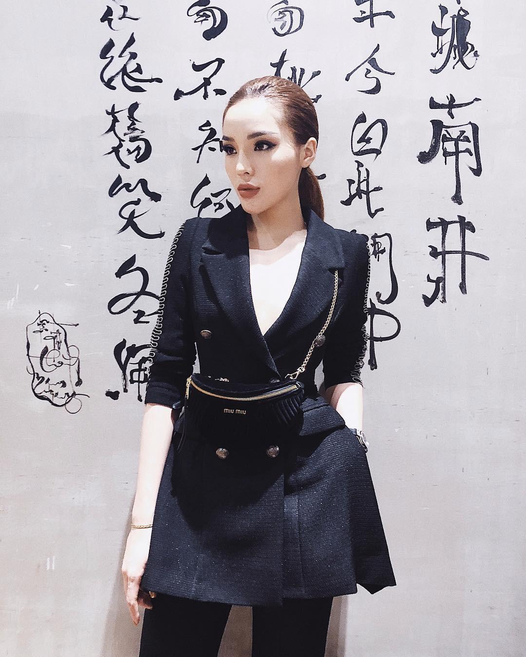 Cùng diện chung mẫu vest cá tính: trong khi Kỳ Duyên kín như bưng, Hòa Minzy lại khoe chân thon dài - Ảnh 4.