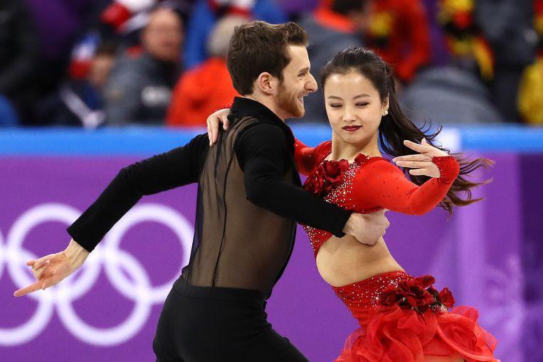 Nữ VĐV trượt băng nghệ thuật Hàn Quốc gặp sự cố tuột khuy áo khi biểu diễn ở Olympic - Ảnh 2.