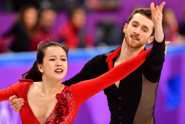 Nữ VĐV trượt băng nghệ thuật Hàn Quốc gặp sự cố tuột khuy áo khi biểu diễn ở Olympic - Ảnh 3.