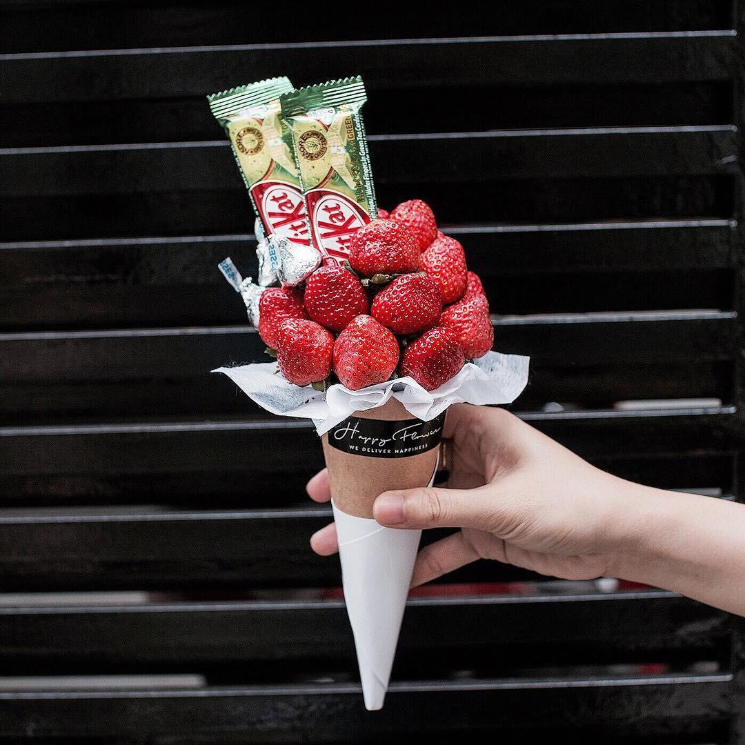 Không cần tốn tiền mua hoa, valentine là phải đi qua đường dạ dày như thế này - Ảnh 15.