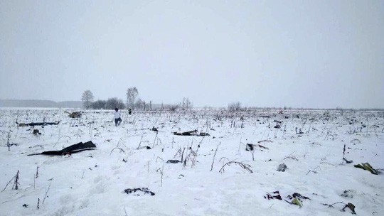 Vụ rơi máy bay ở Nga: Không có người Việt trong danh sách nạn nhân - Ảnh 1.
