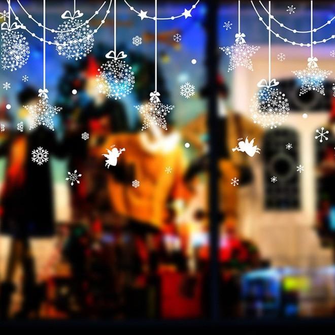 Trang trí cửa sổ đẹp lãng mạn đón năm mới tươi vui, hạnh phúc - Ảnh 3.