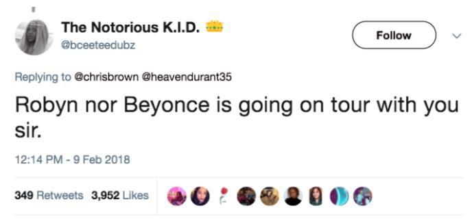 Chris Brown gom đủ gạch xây nhà khi tweet muốn đi tour với Rihanna - Ảnh 3.
