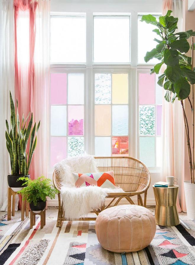 Trang trí cửa sổ đẹp lãng mạn đón năm mới tươi vui, hạnh phúc - Ảnh 9.