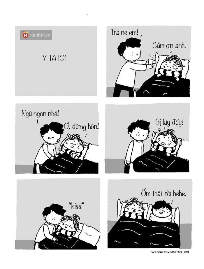 Bộ tranh: Đã yêu nhau thì bất cứ ngày nào cũng là Valentine - Ảnh 1.