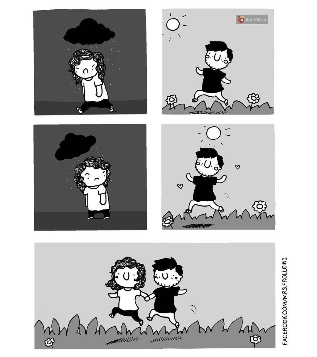 Bộ tranh: Đã yêu nhau thì bất cứ ngày nào cũng là Valentine