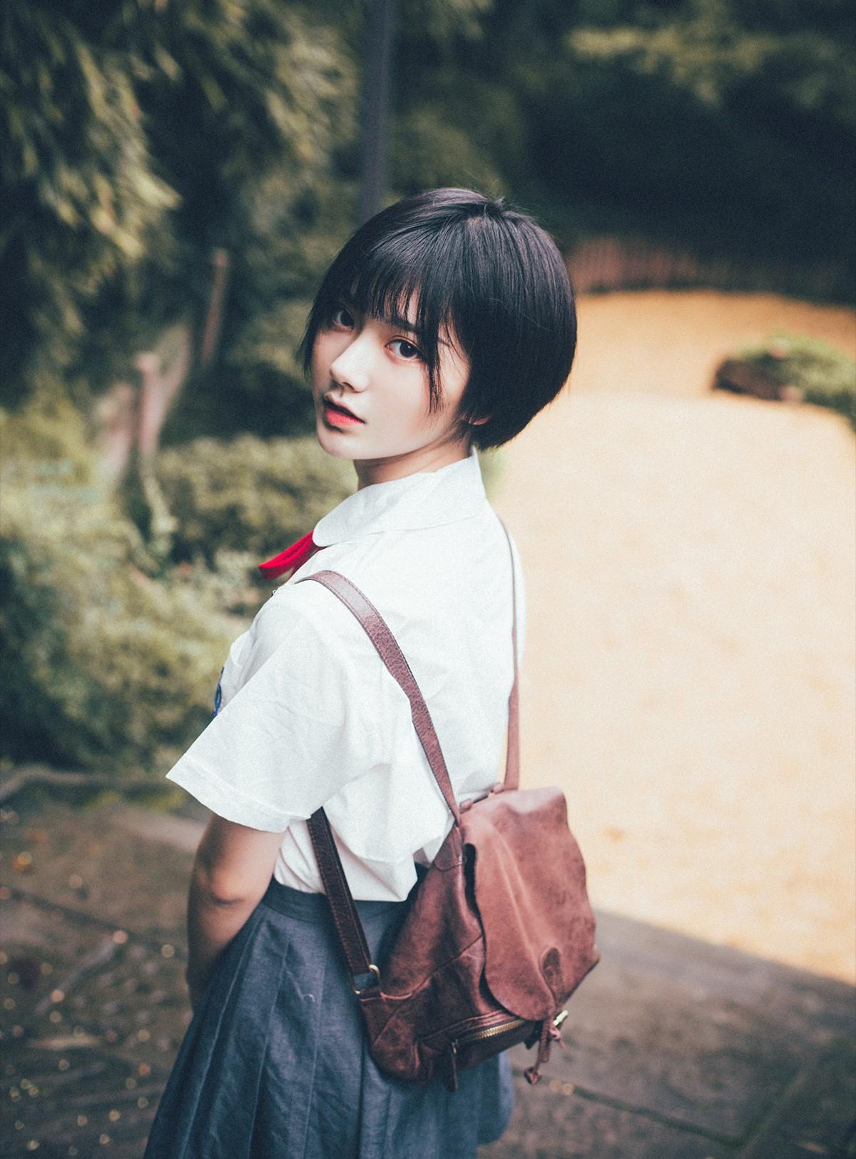Cô bạn Trung Quốc siêu xinh chứng minh con gái nên để tóc ngắn ít nhất 1 lần! - Ảnh 7.