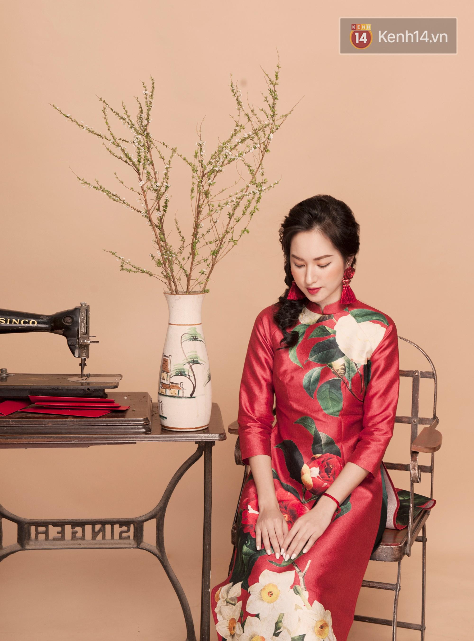 Tết này mặc áo dài: Sun HT, Mẫn Tiên, Lê Vi diện 15 mẫu áo dài cực xinh mà hẳn là bạn cũng đang cần tìm mua chúng - Ảnh 5.